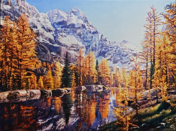 Mountain Colour 48 x 36