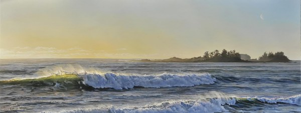 "Rolling Waves 48"" x 18"""