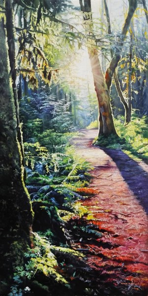 "Sunset Trail 20"" x 40"""