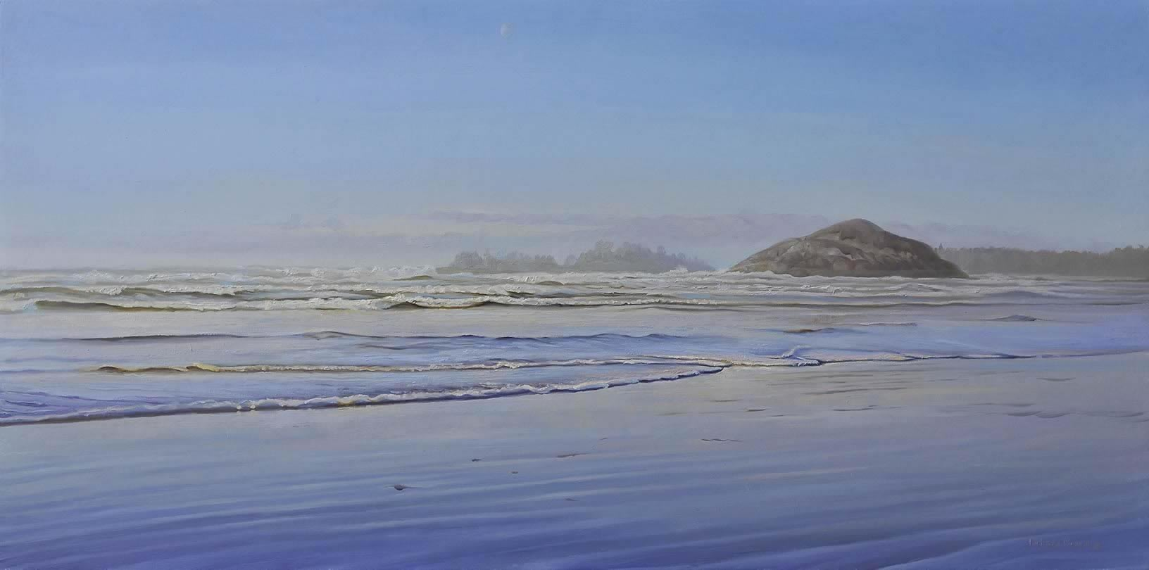 "Rolling Waves 30"" x 15"""